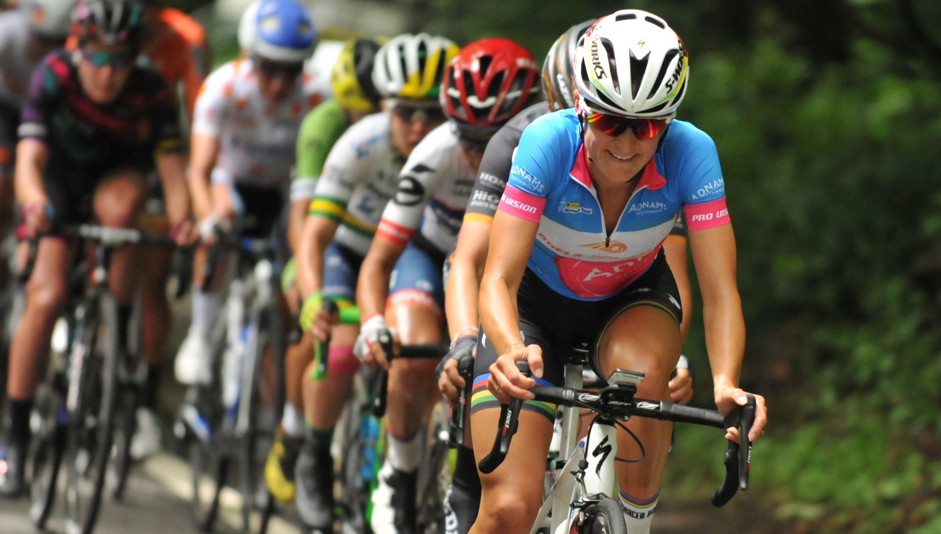 Watch highlights of all 5 Stages of the 2016 Aviva Women's Tour on the ITV Hub