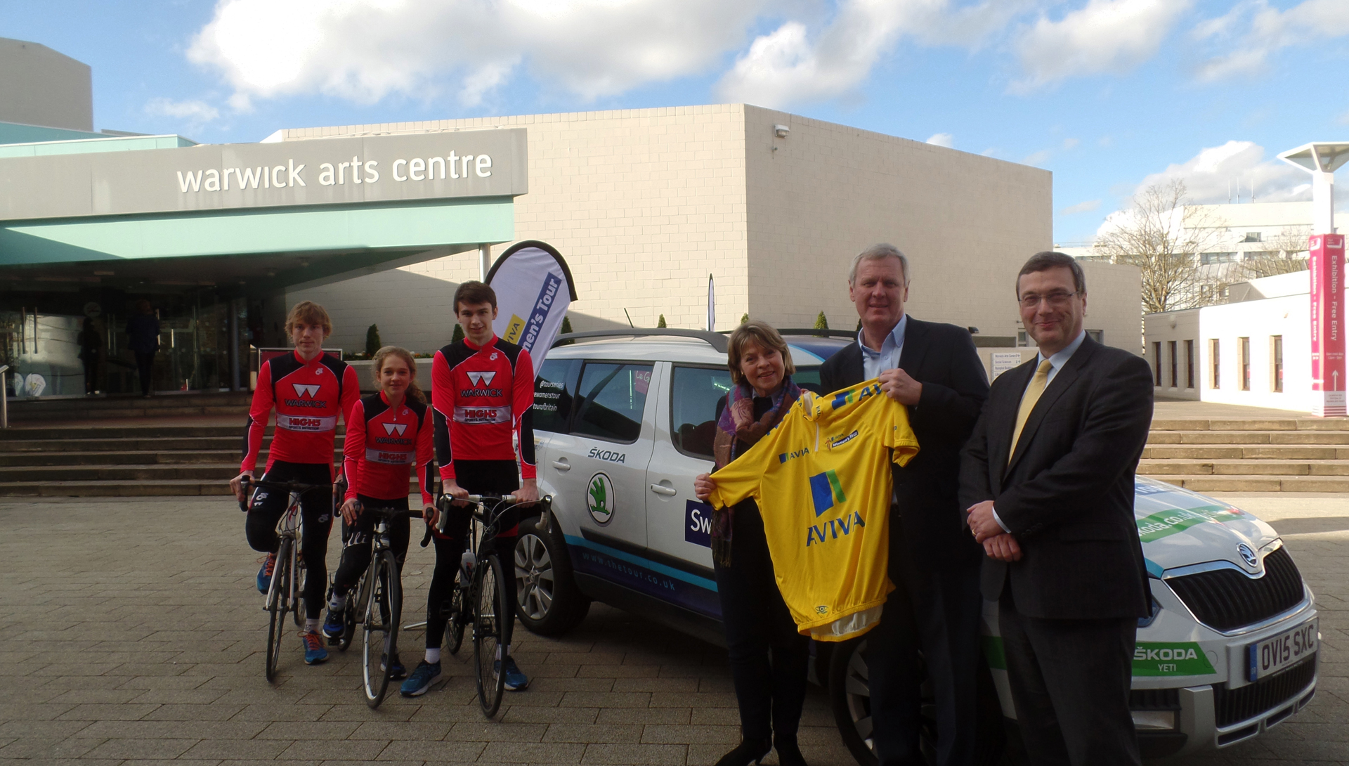 Warwickshire Partners with University of Warwick for Women's Tour