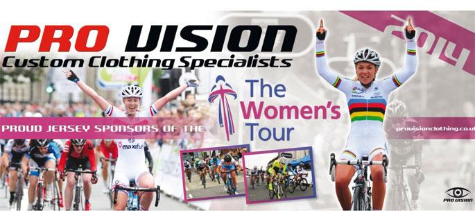 Visit Pro Vision Clothing's online Women's Tour shop