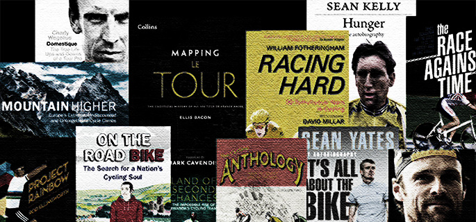 Read all about it, our latest cycling book reviews online