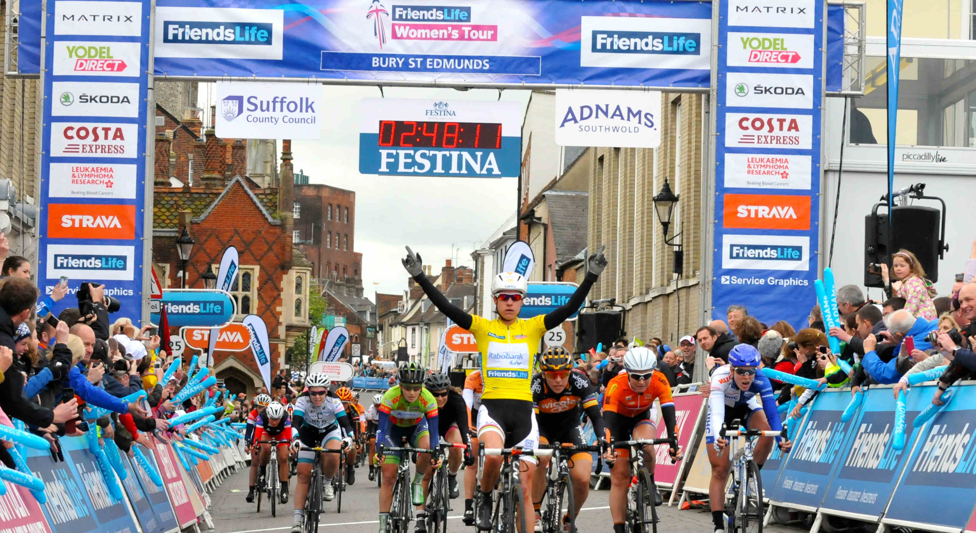 Suffolk to host opening stage of Friends Life Women's Tour in 2015