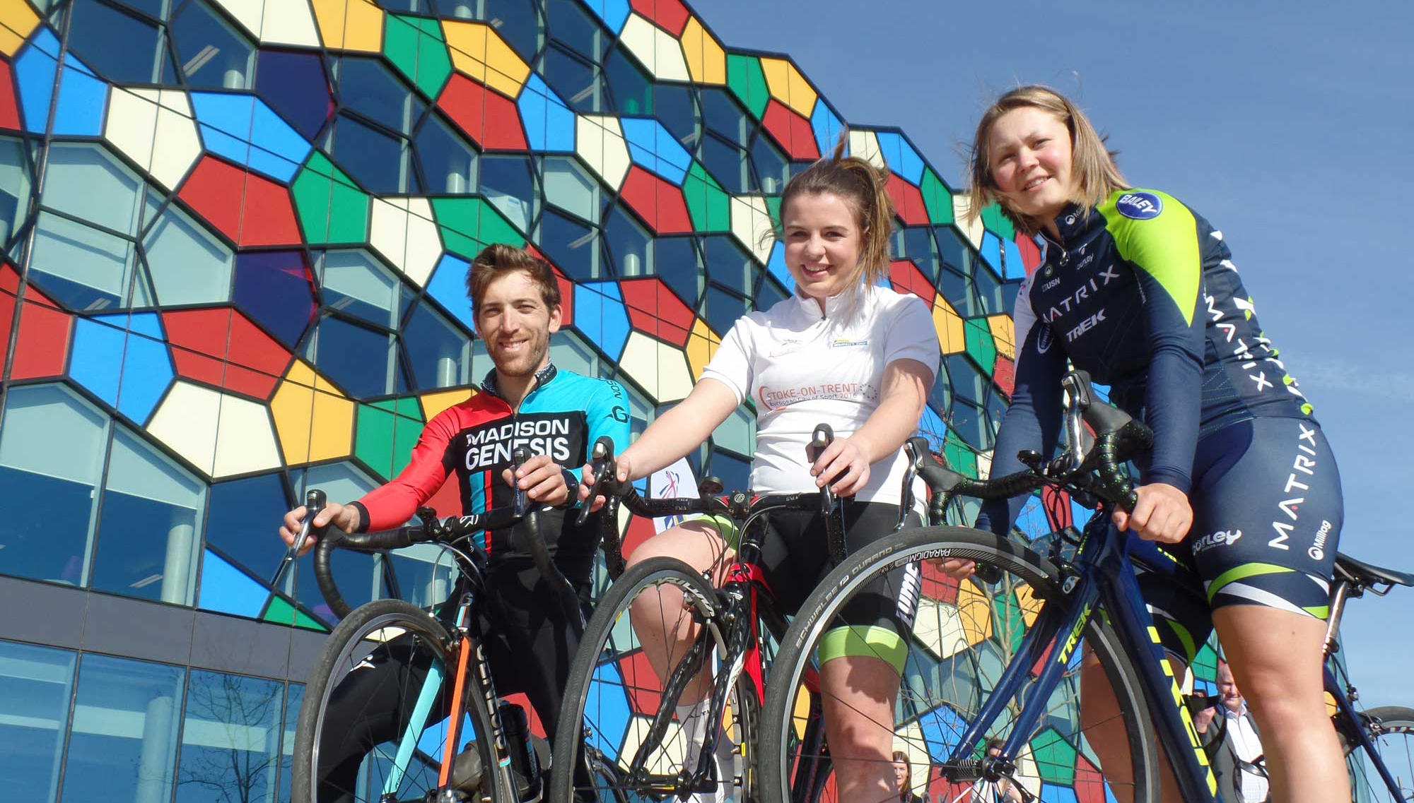 Stoke-on-Trent ready to welcome two major cycling races