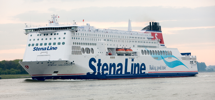 Stena Line offer 10% discount to supporters travelling from the continent
