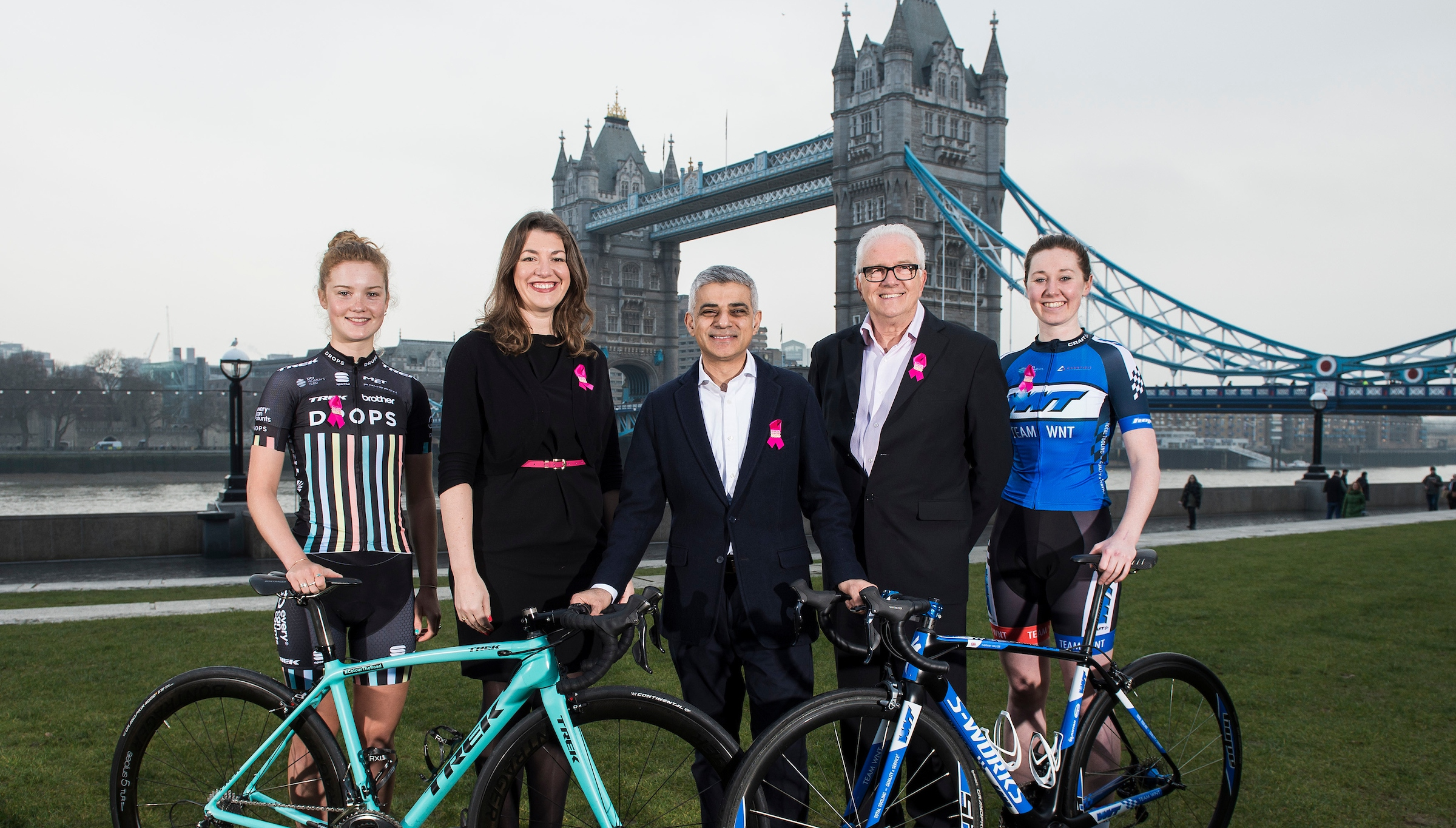 Spectacular Sunday London finale for The Women's Tour in 2017