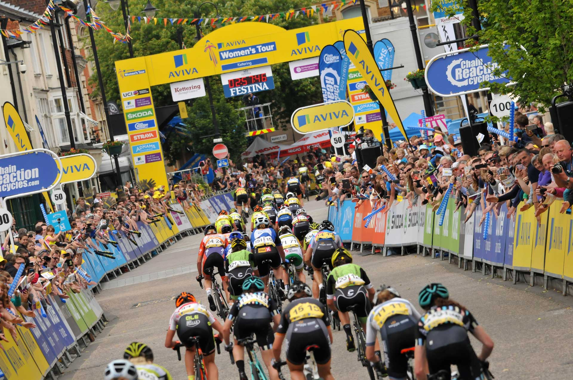 Celebrate the Aviva Women's Tour in the official sportive next month