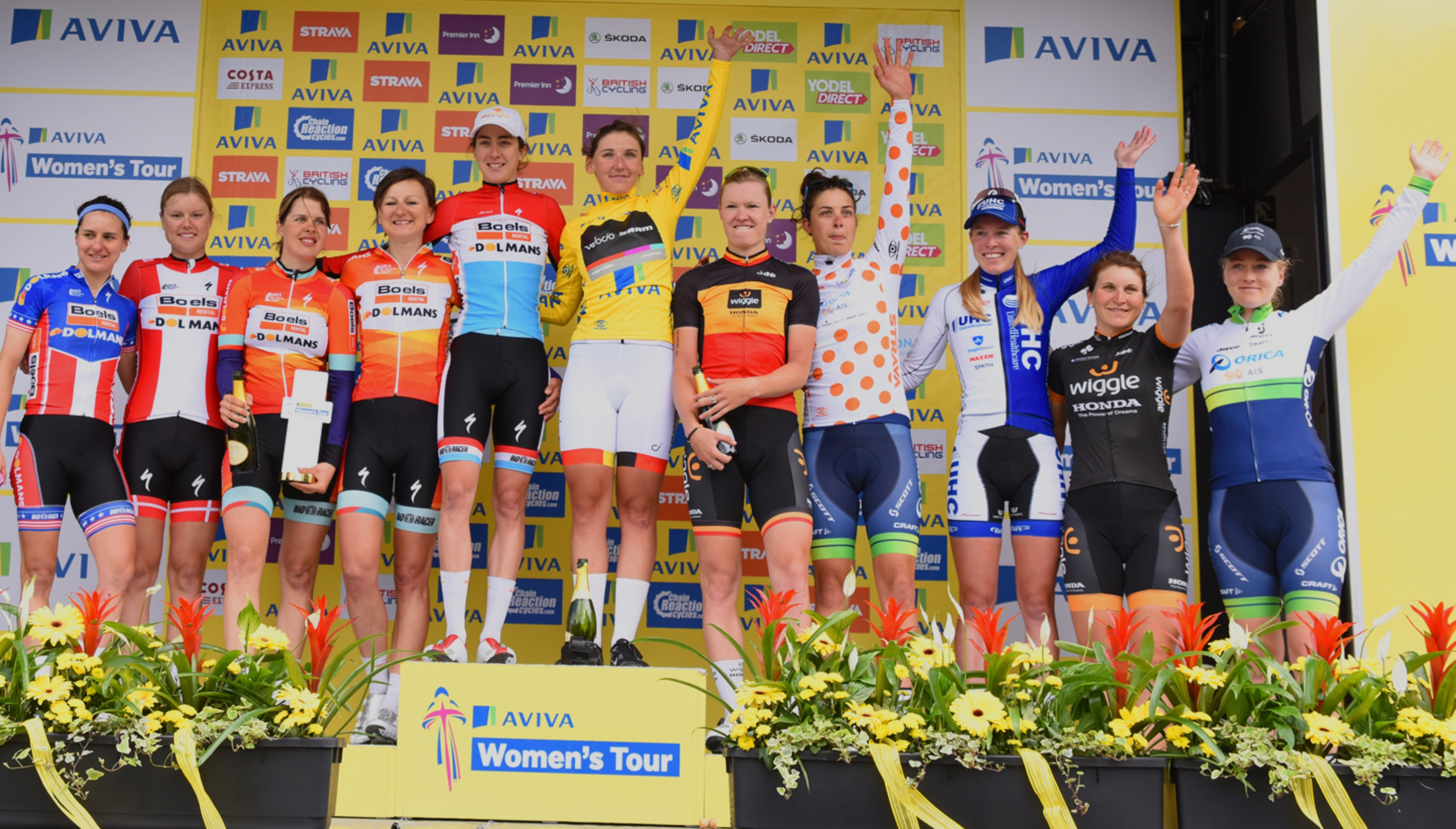 Quotes: Riders and teams look ahead to the 2016 Aviva Women's Tour