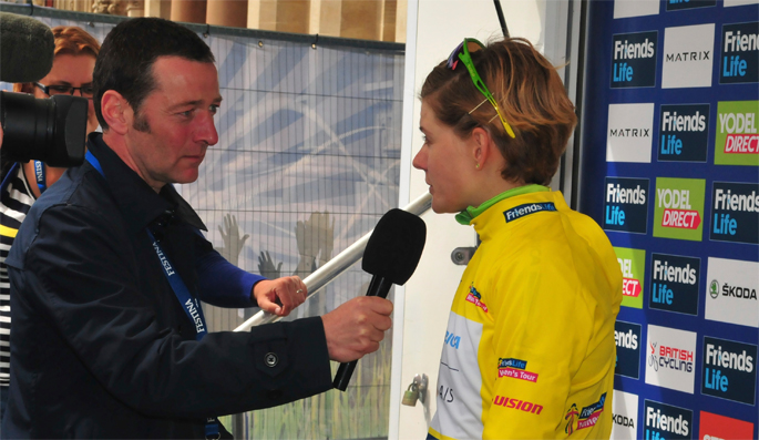 Ned Boulting to present Southwold event on eve of Aviva Women's Tour