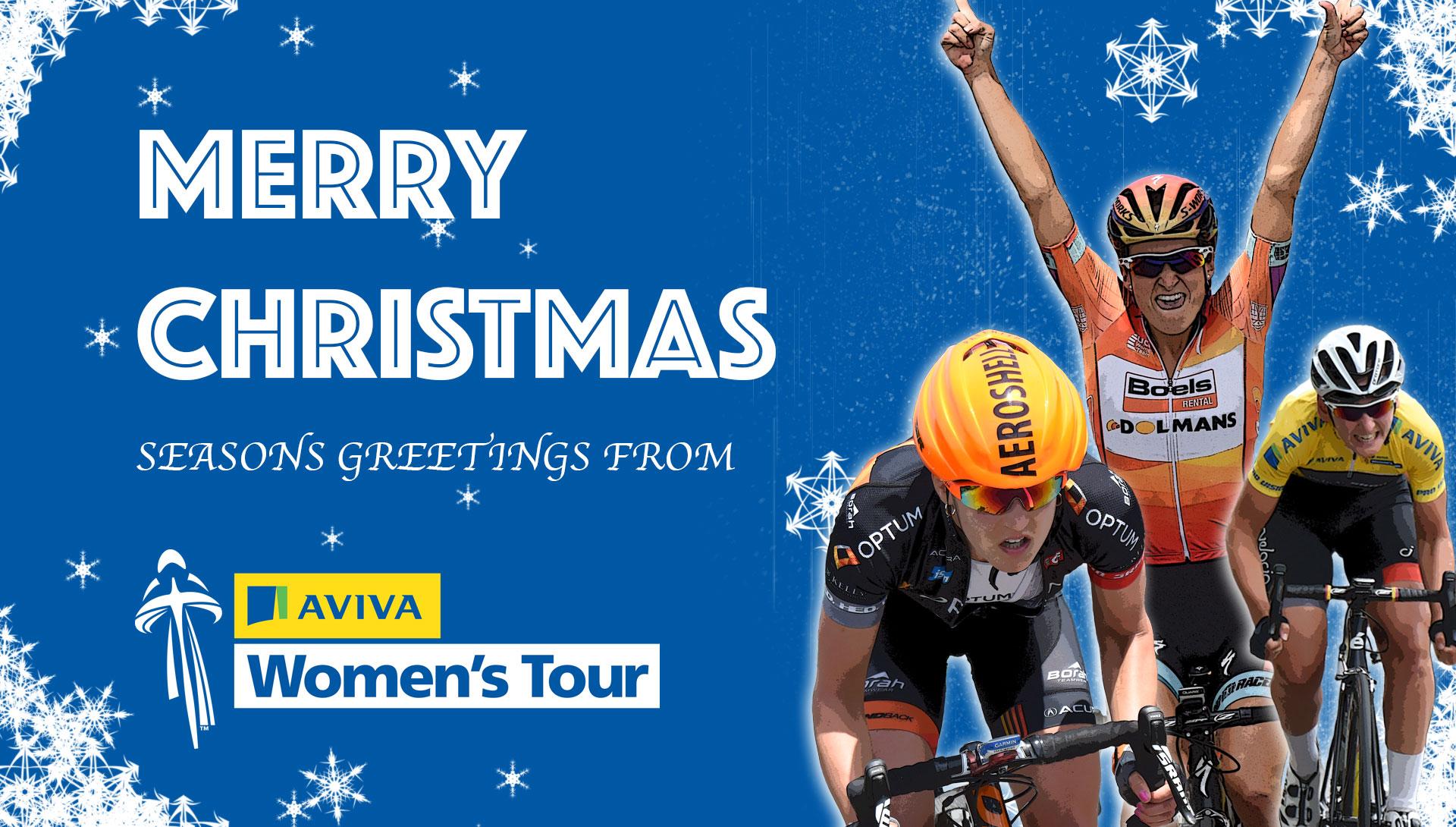 Merry Christmas from the Aviva Women's Tour