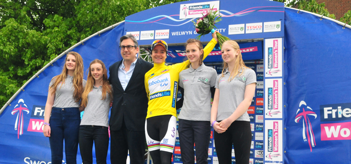 Marianne Vos, post-Stage Four quotes