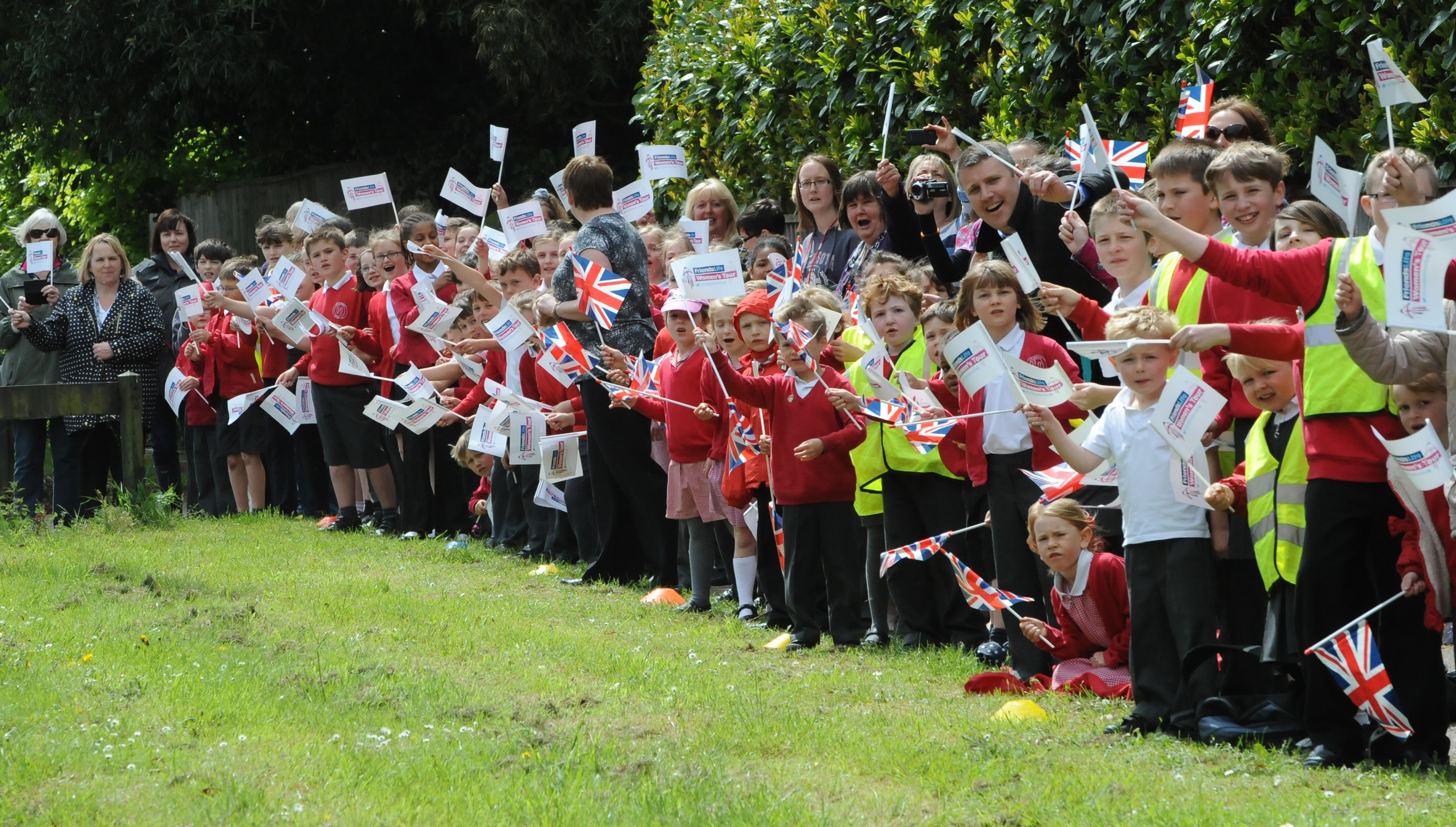 Local schools to take part in the Aviva Women's Tour in Suffolk Coastal