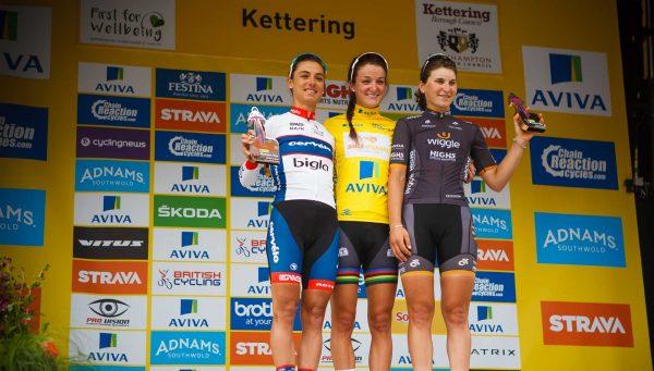 2016 podium
