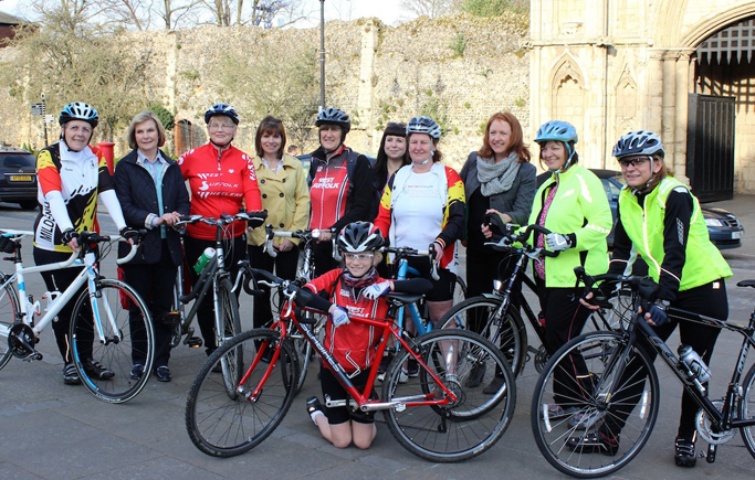 Ladies gearing up for Friends Life Women's Tour Finish inspired charity ride