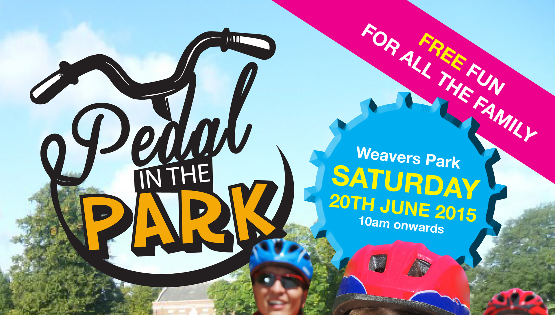 Join in the fun at Pedal in the Park in Braintree on 20 June