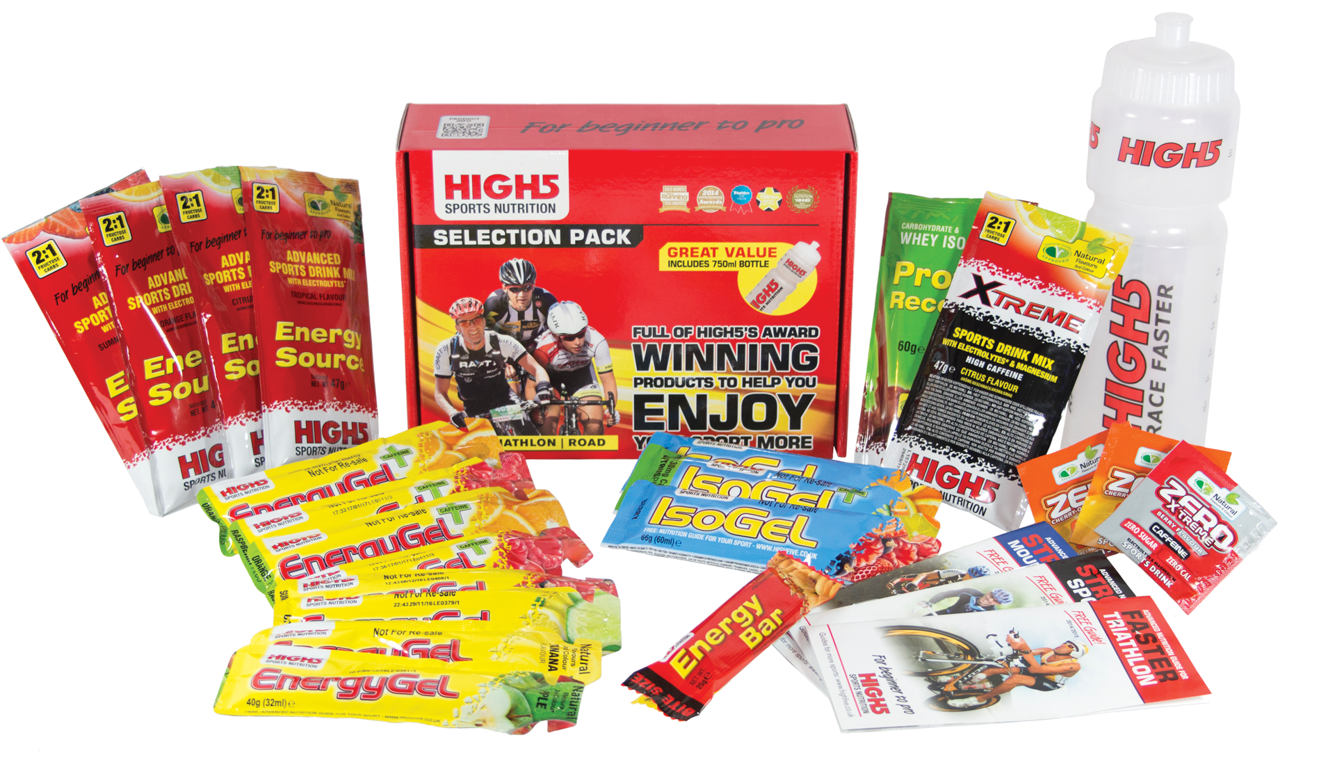 HIGH5 become Official Nutrition Partner to the Women's Tour and Tour Series