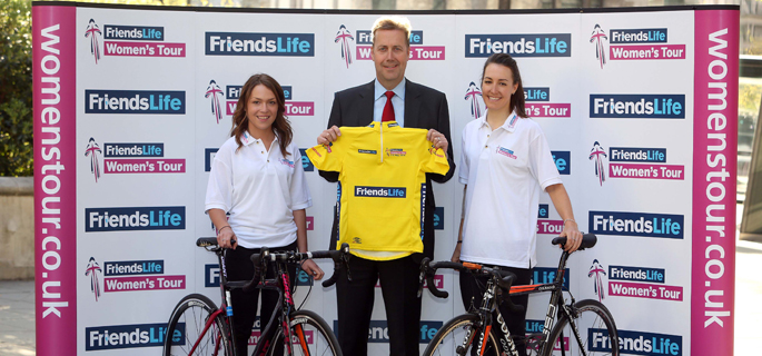 Friends Life to sponsor the UK's first ever Women's Tour