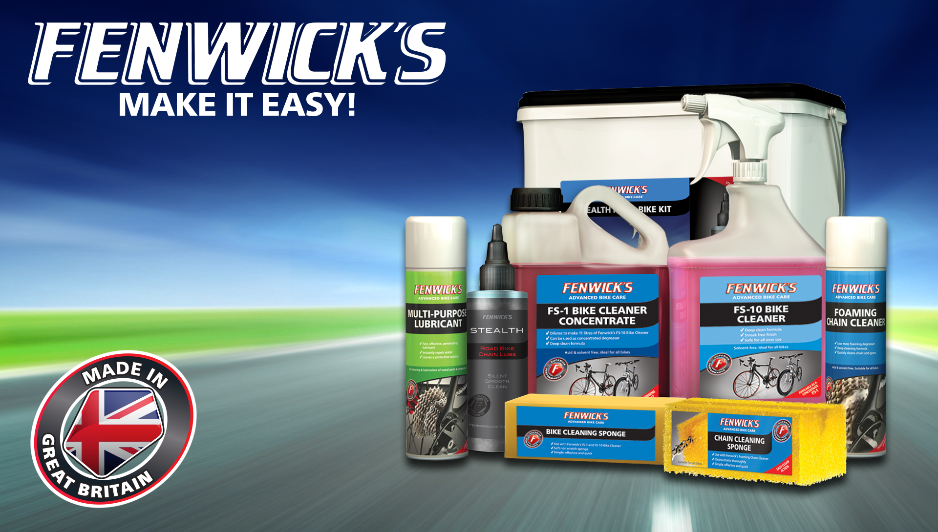 Fenwick's appointed Official Bike Cleaning Partner to Tour events