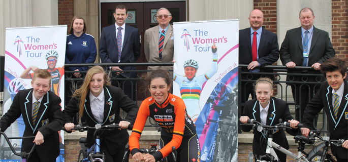 Emma has sights set on The Women's Tour in May