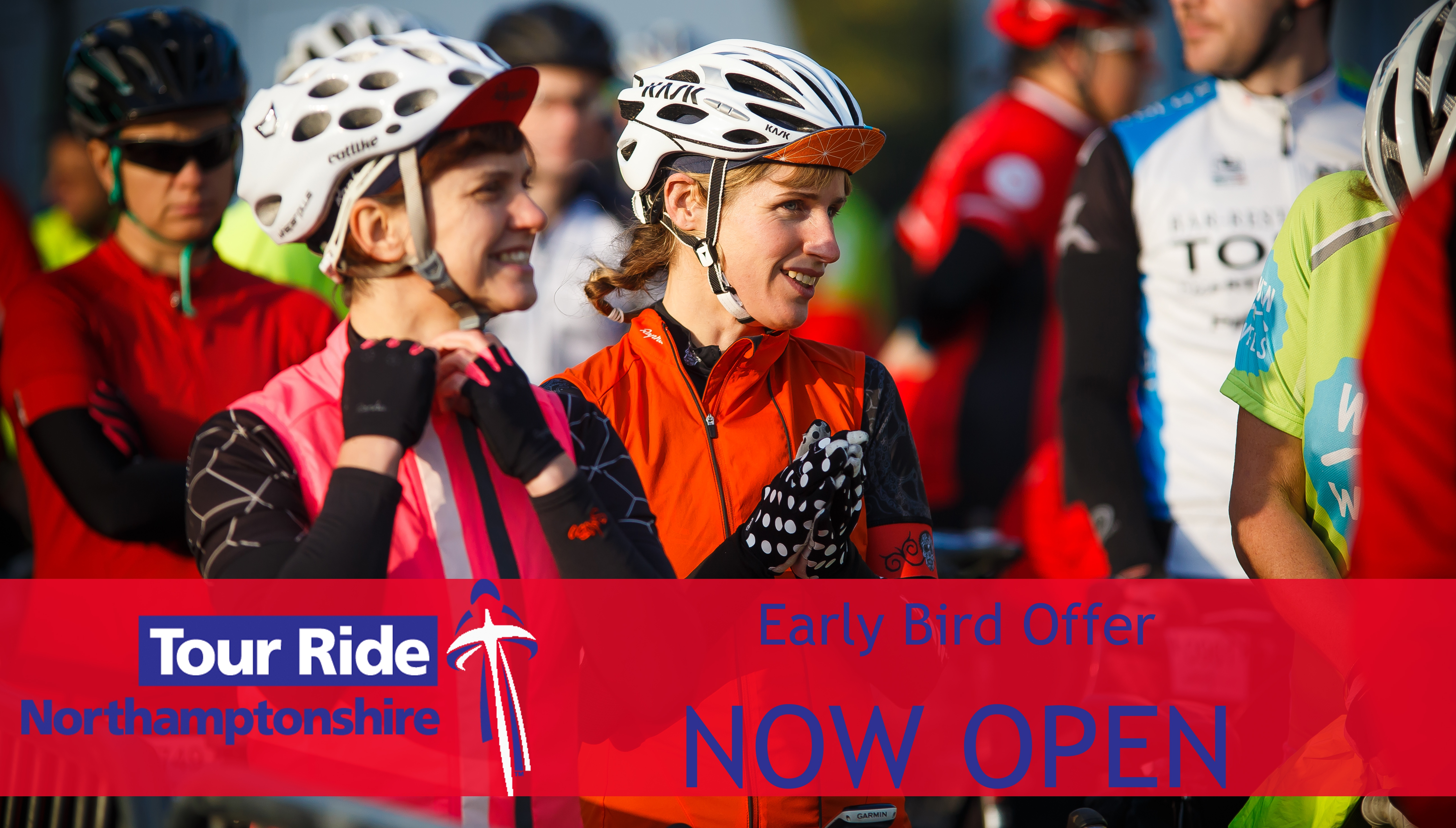 Early bird entries for Tour Ride Northamptonshire; Official Sportive of the Aviva Women's Tour now open