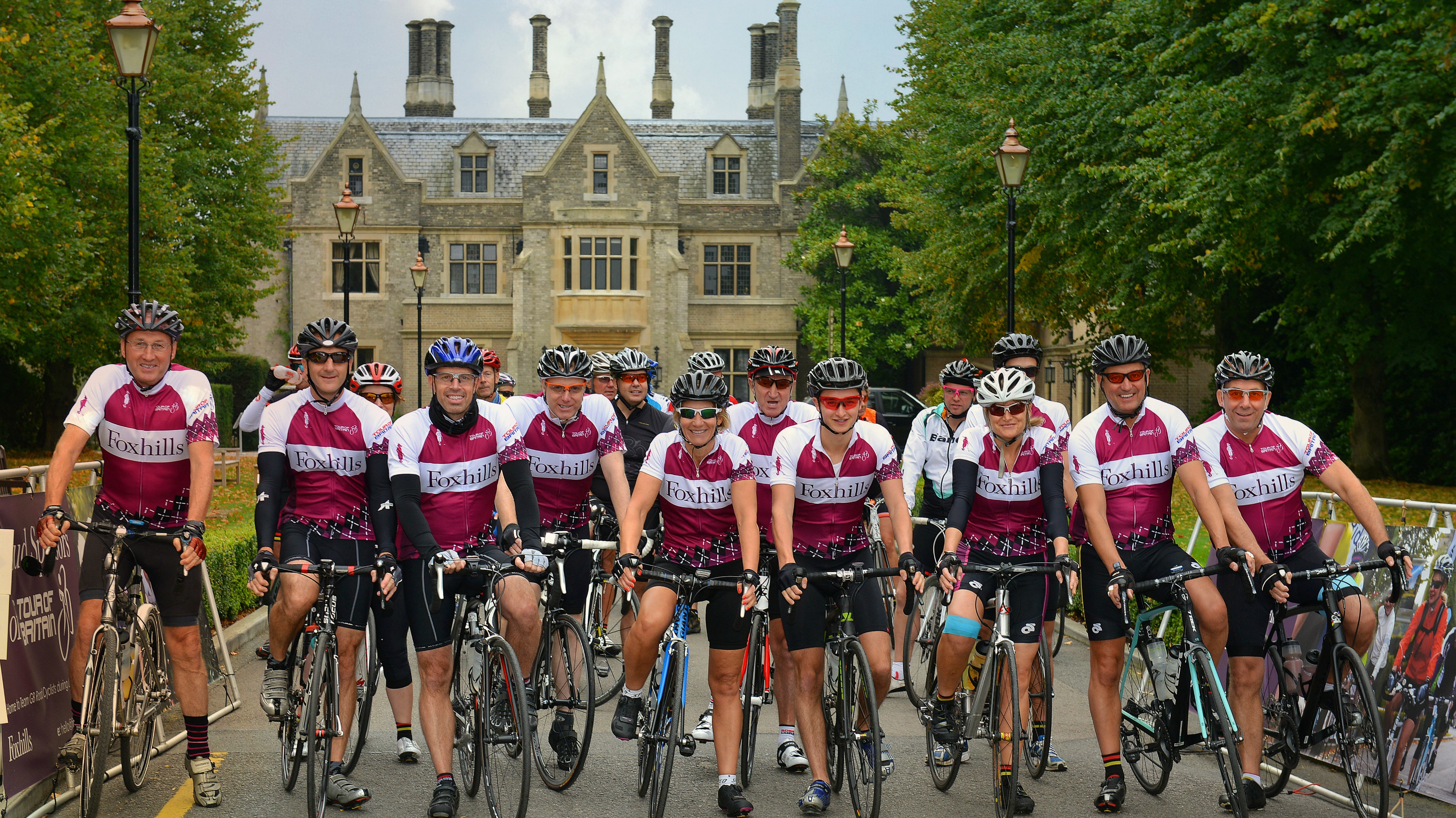 Cycle through Surrey with Foxhills Sportive