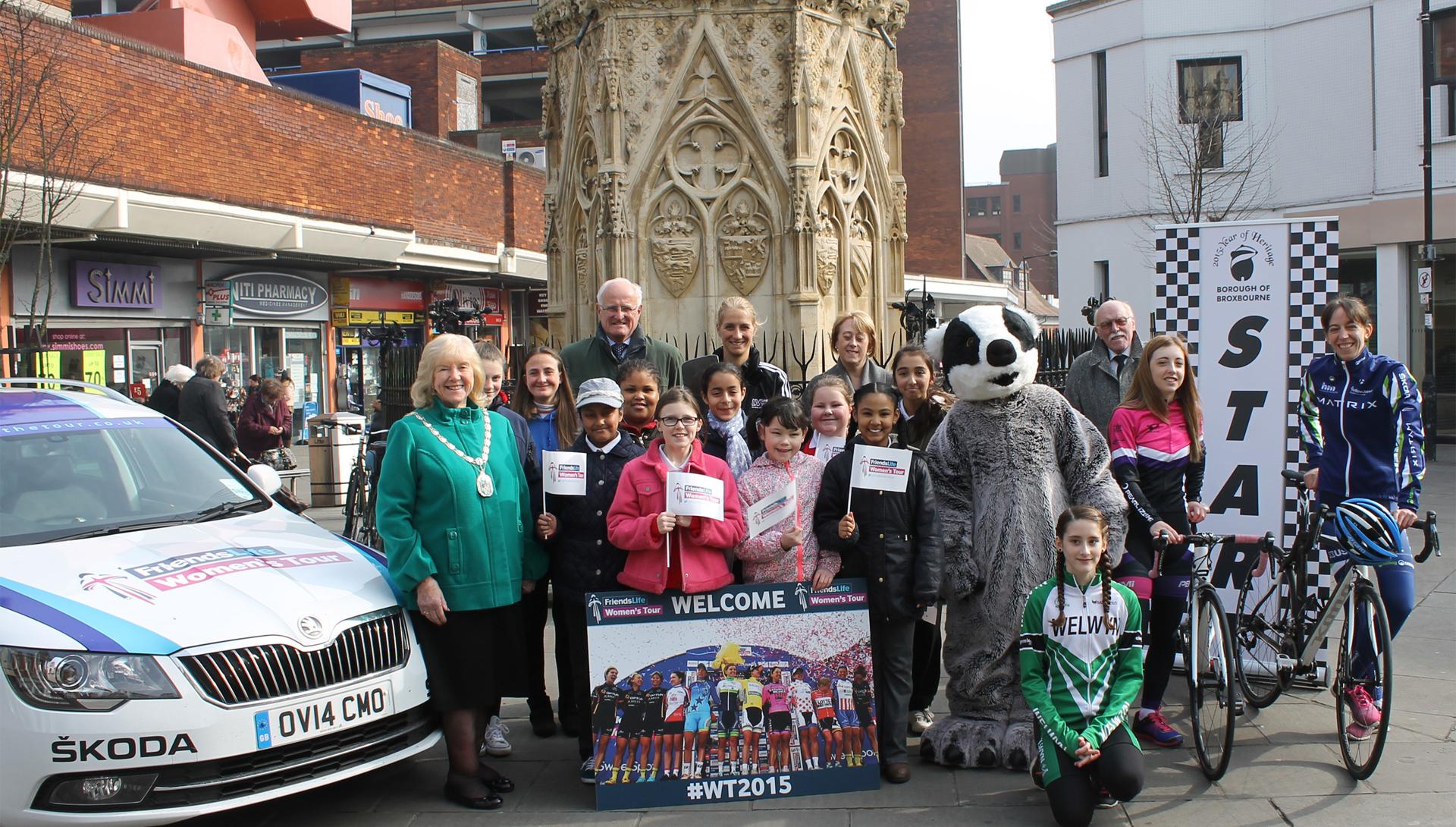 Broxbourne & Stevenage celebrate return of the Friends Life Women's Tour this June
