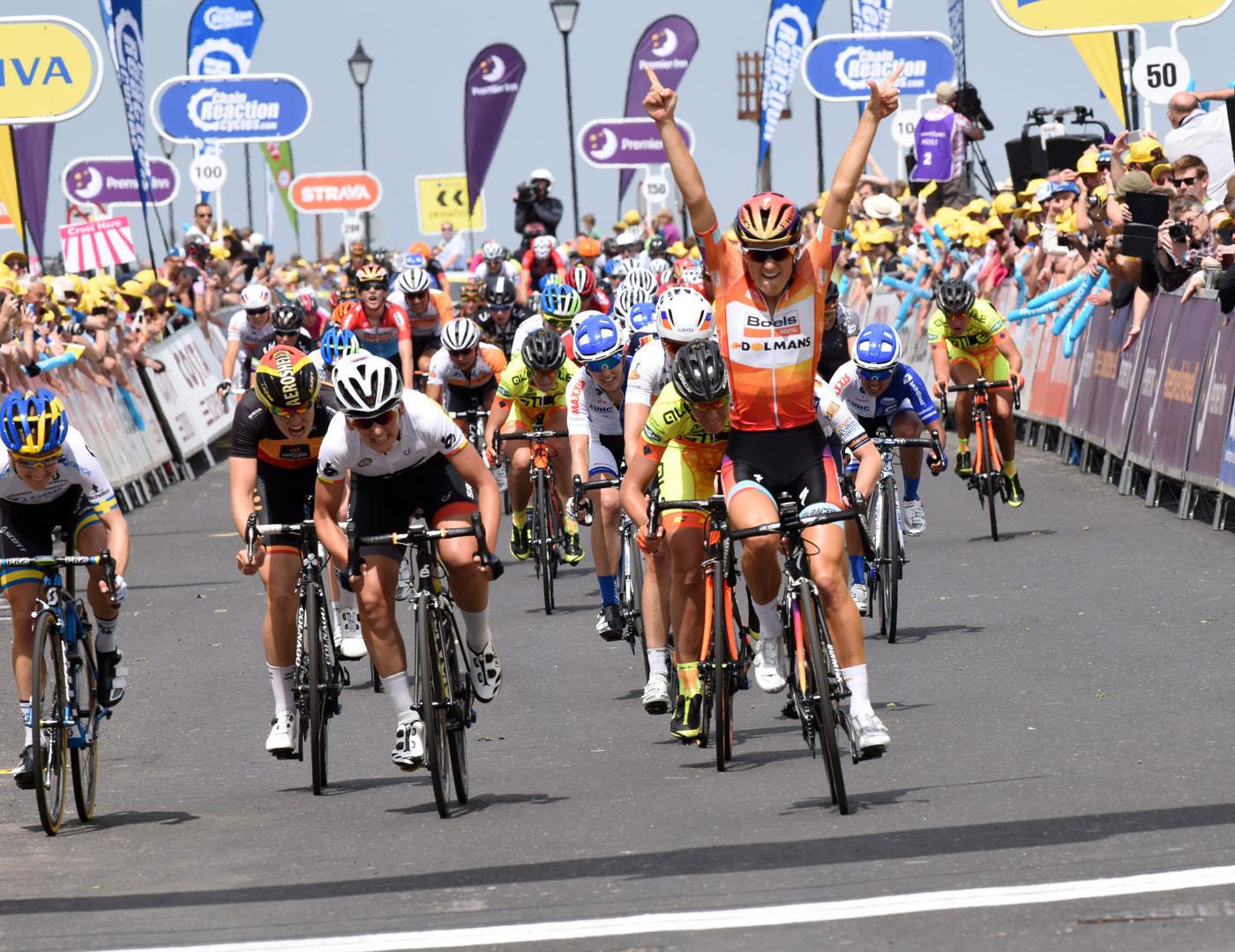 Aviva Women's Tour Grand Depart inspires Women on Wheels mass participation ride