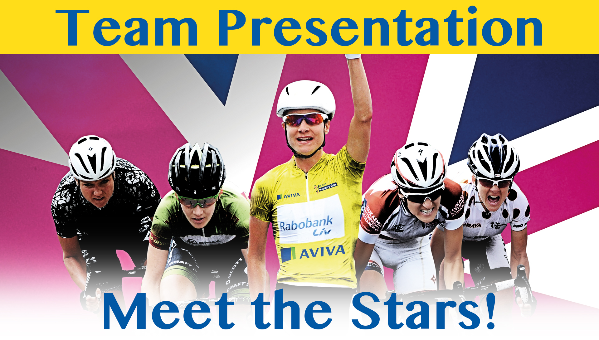 Aviva Women's Tour – Team Presentation