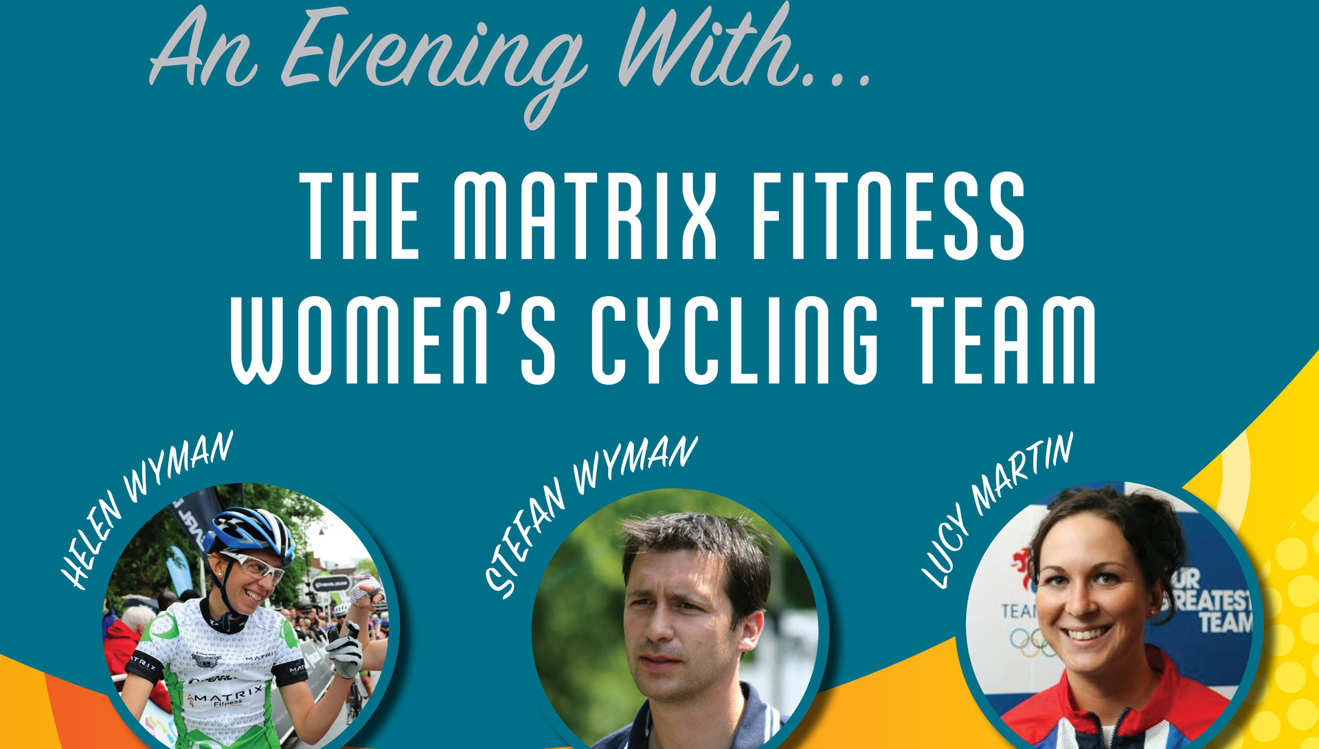 An Evening with…the Matrix Fitness cycling team