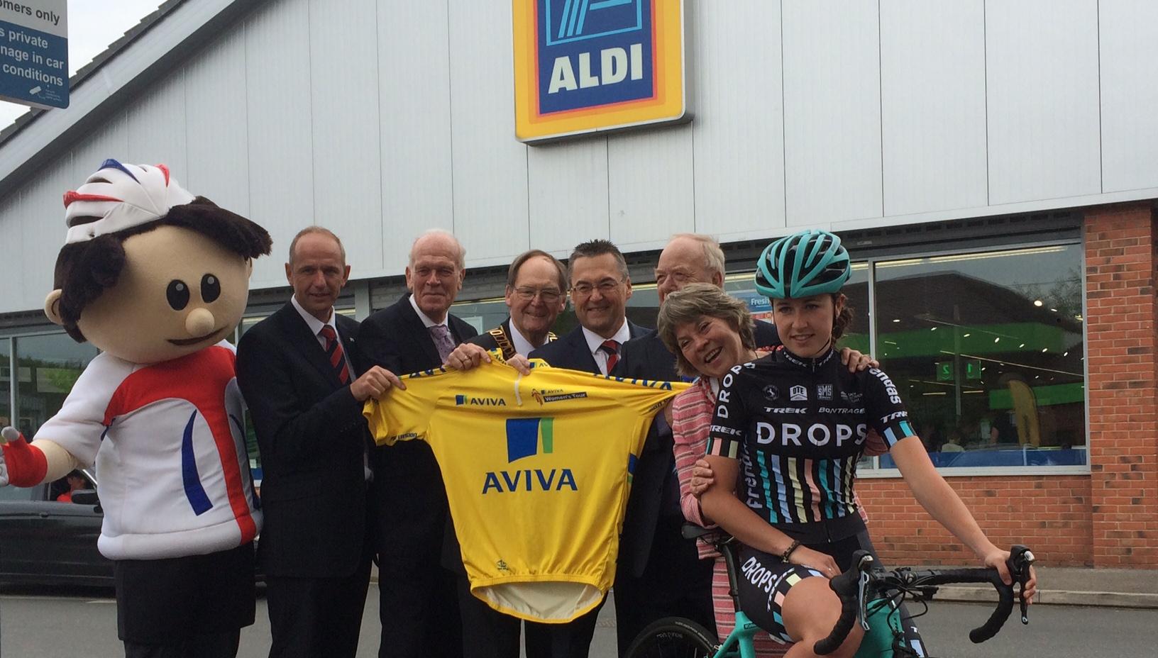 Aldi announced as major sponsors of Aviva Women's Tour in Warwickshire