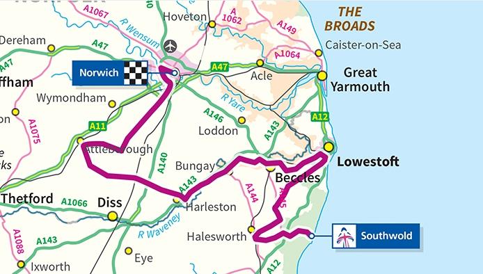 2016 Aviva Women's Tour to begin in Suffolk and Norfolk