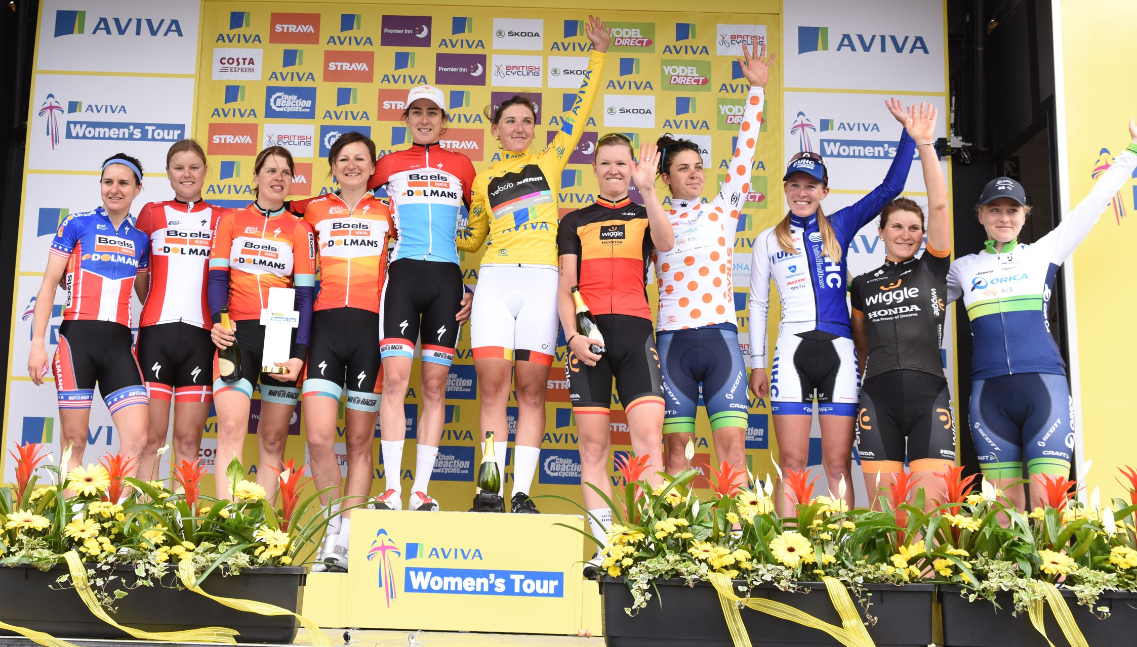 2016 Aviva Women's Tour to be launched on Wednesday 3rd February