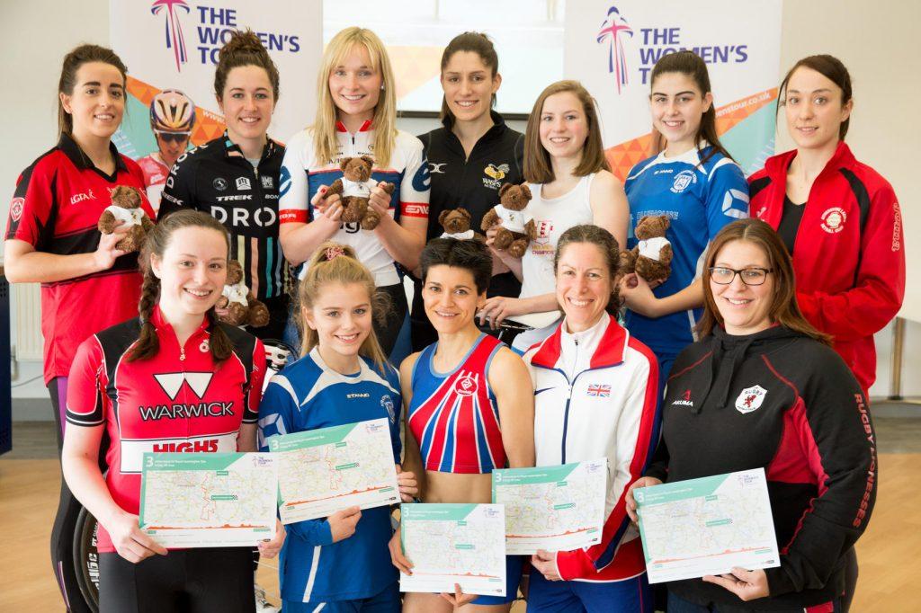 Women's Cycle Tour launch Warwick University