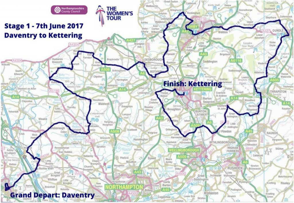 Women's Tour Daventry