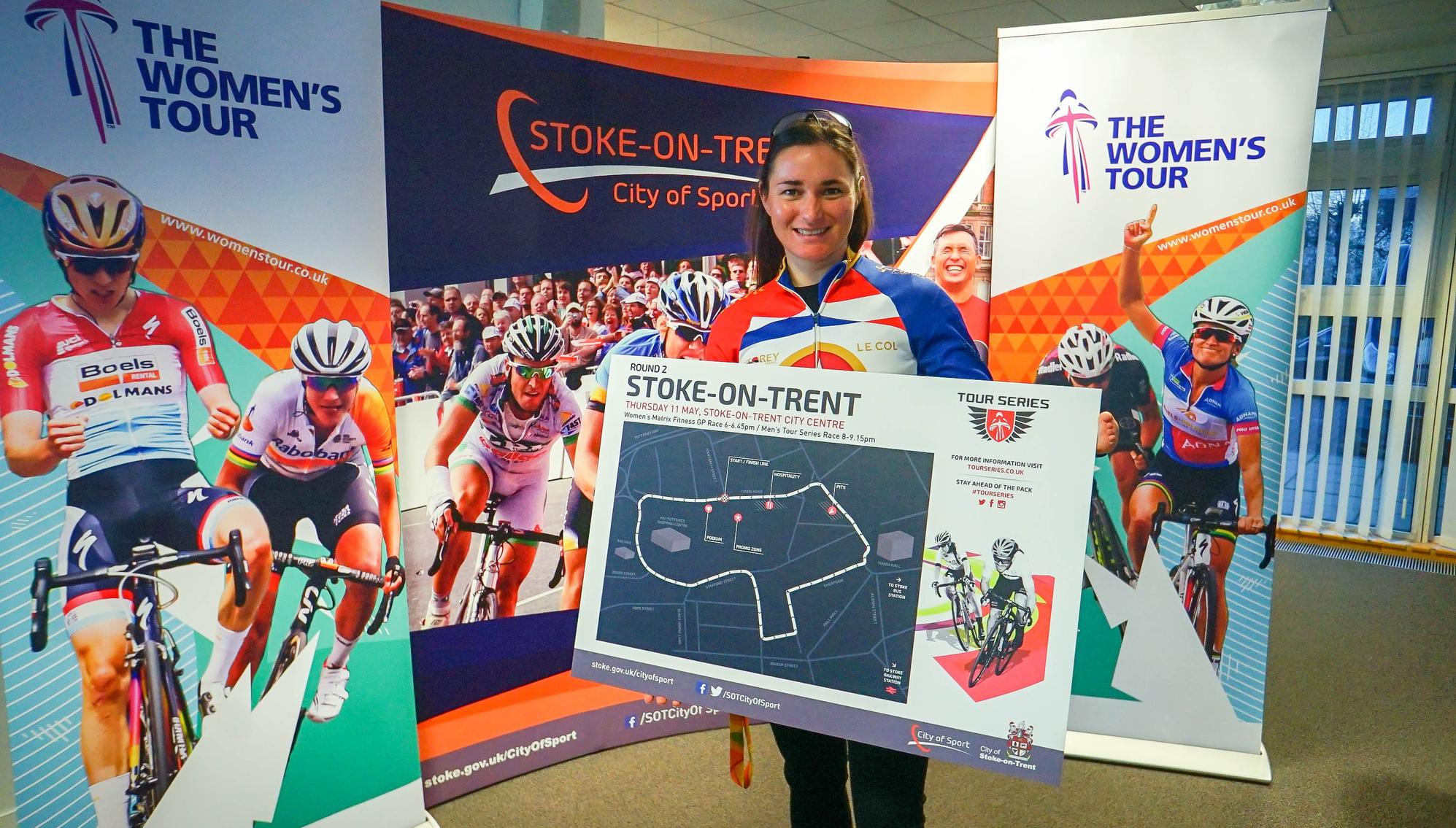 Dame Sarah Storey hails Stoke-on-Trent's sporting prowess as they get set to welcome Women's Tour