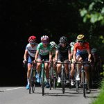 Alex Whitehead/SWpix.com - 09/06/2017 - Cycling OVO Energy Women's Tour 2017 - Stage 3 - Atherstone to Royal Leamington Spa - England - The peloton passes through the Warwickshire countryside.
