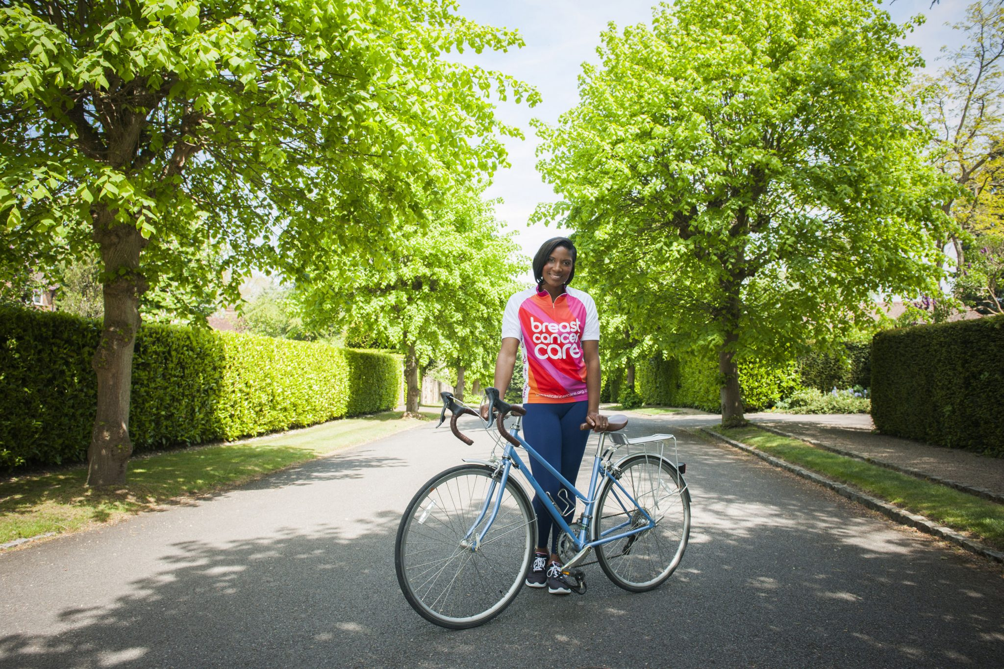 Denise Lewis to Cycle at Breast Cancer Care's Pink Ribbon Tour
