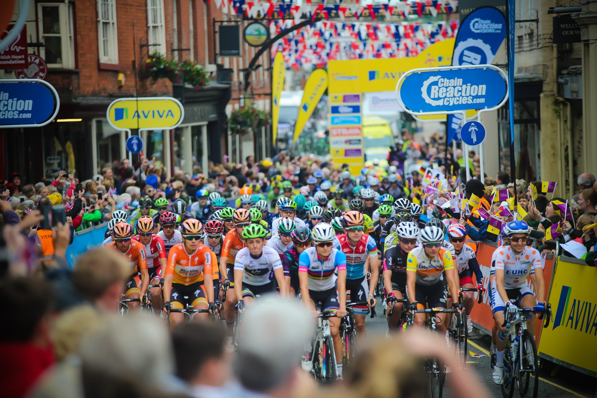 Staffordshire prepares to cheer on the world's top cyclists this week