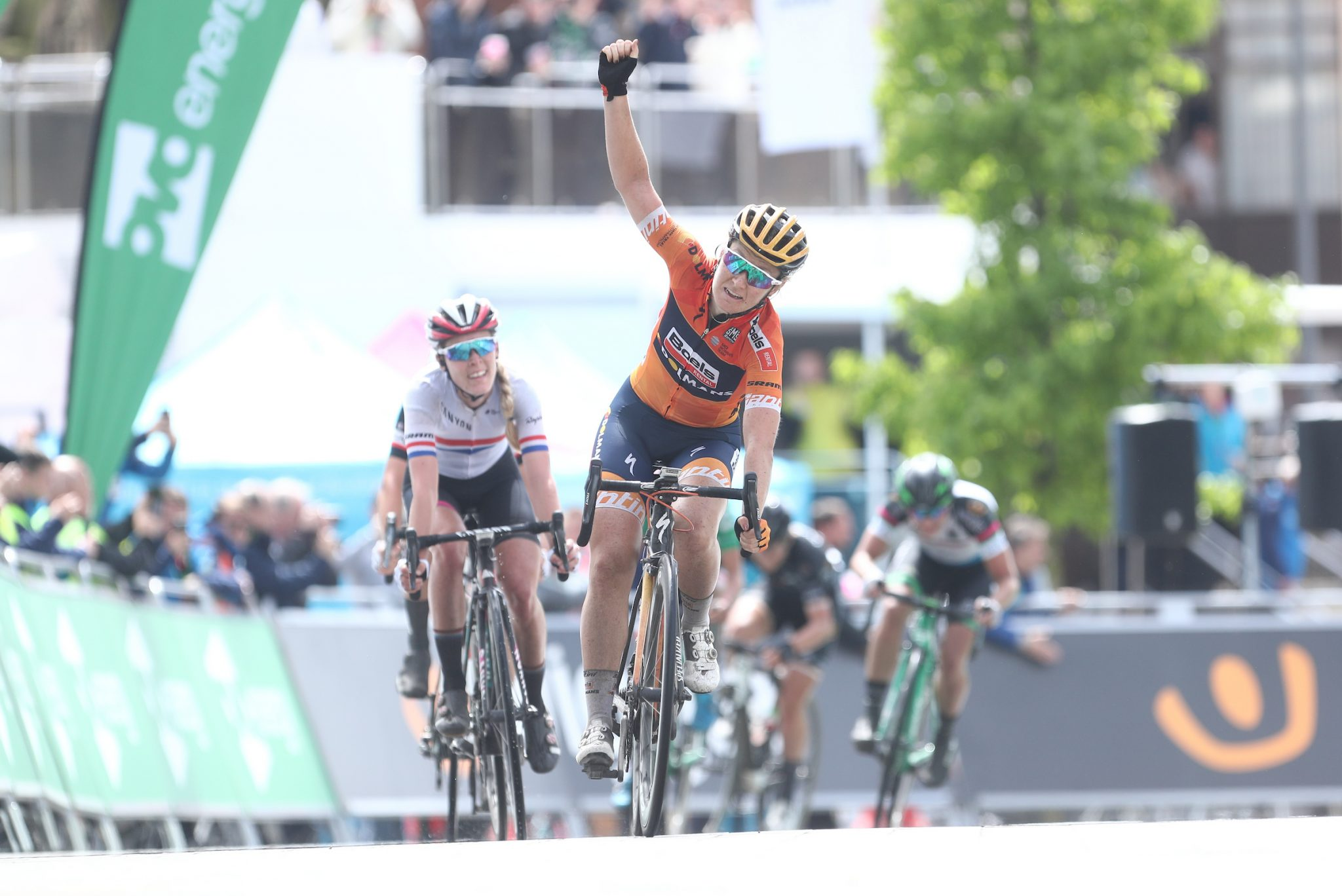 Amy Pieters Stoke Stage 2 2017 win
