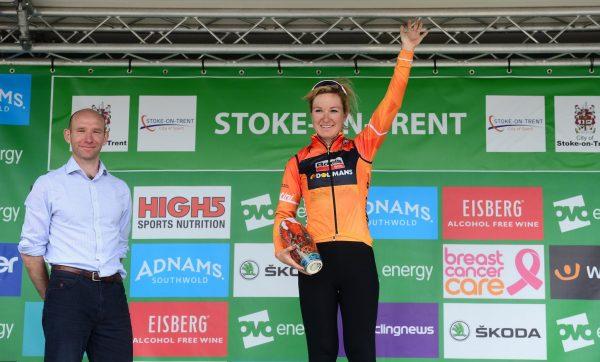 Amy Pieters Stoke Podium