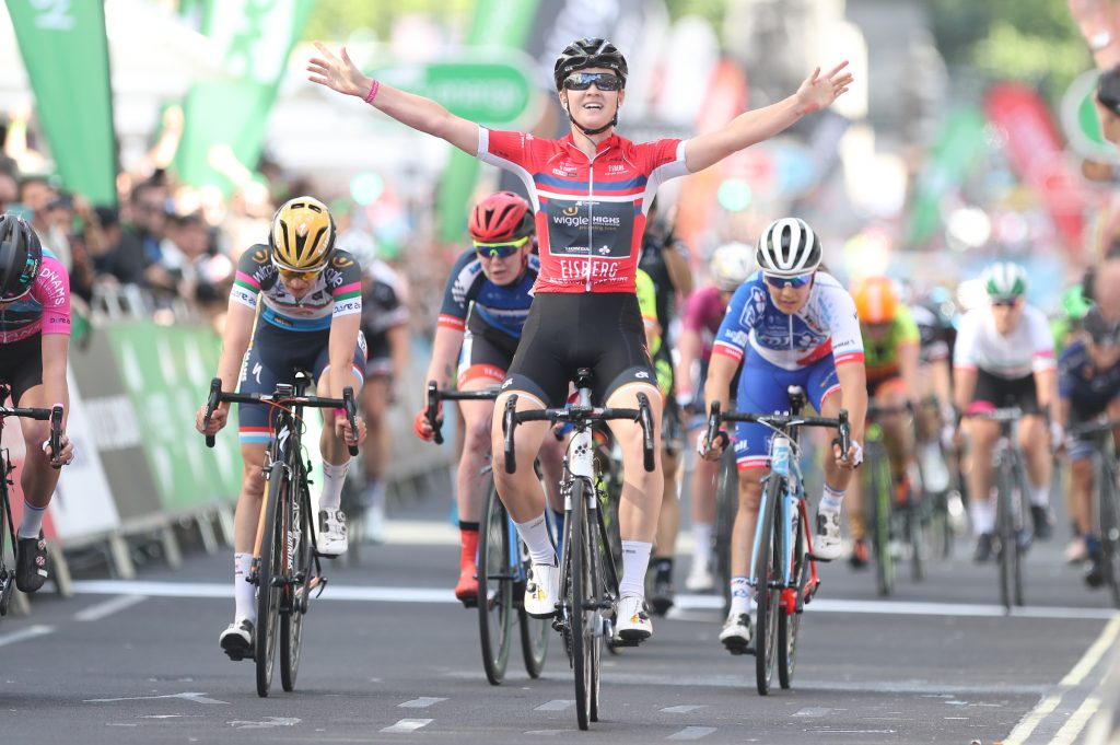 Jolien D'Hoore Wiggle HIGH5 London win