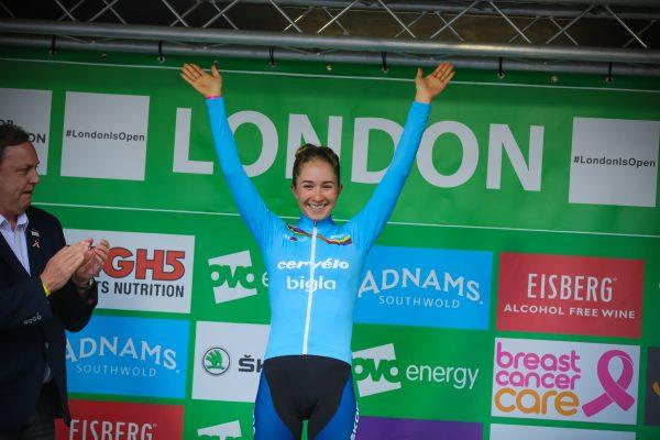 Cecilie Ludwig Cervelo Bigla London podium