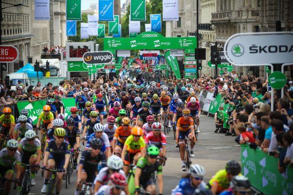 Stage 5 London Start Crowds 2017