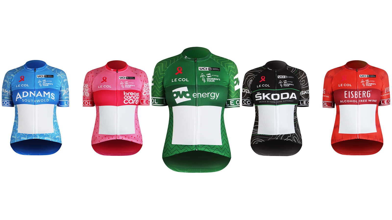 2018 Le Col Leaders' Jerseys revealed