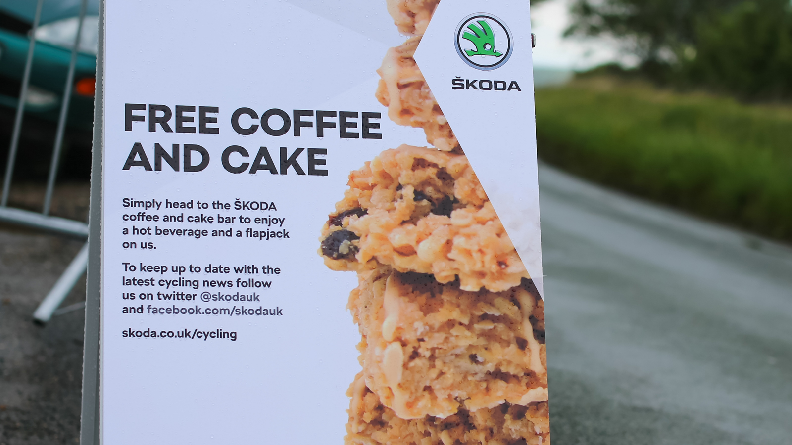 SKODA Queen of the Mountains pop-up cafe returns