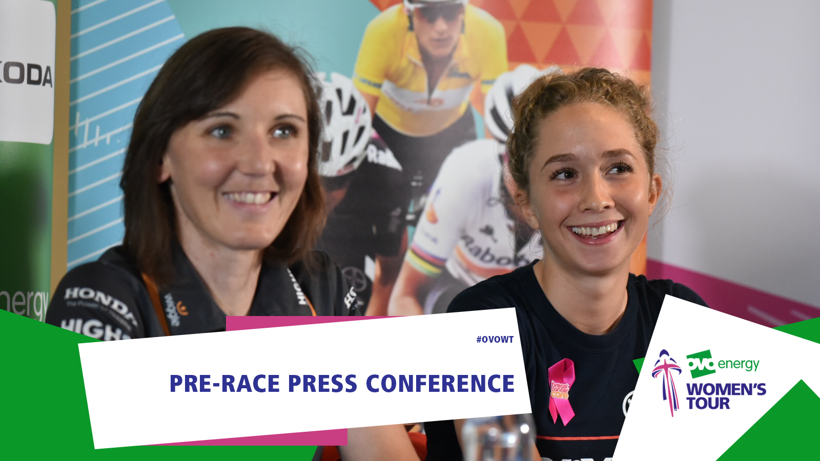 Video: OVO Energy Women's Tour press conference