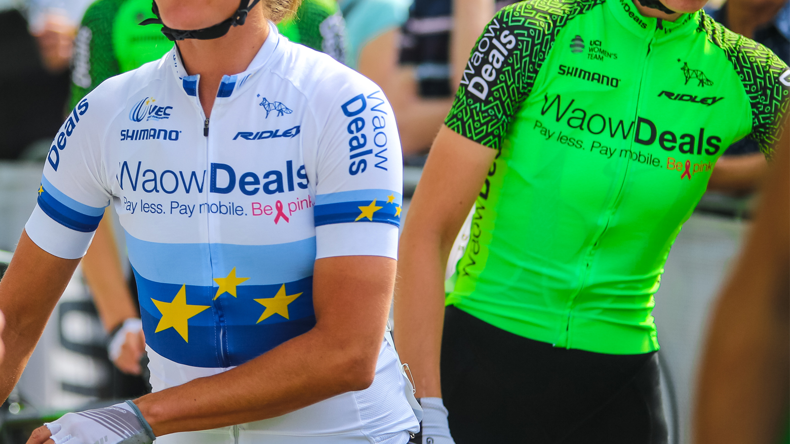 WaowDeals Pro Cycling supports fight against Breast Cancer