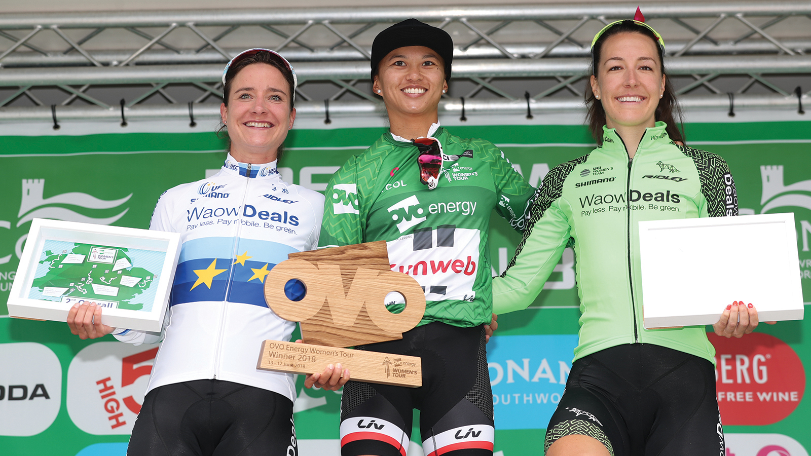 Women's Tour jerseys