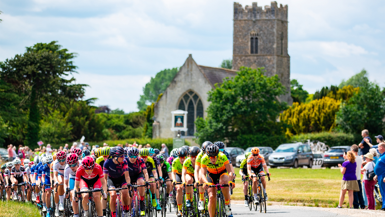Ride the OVO Energy Women's Tour's Official Sportive