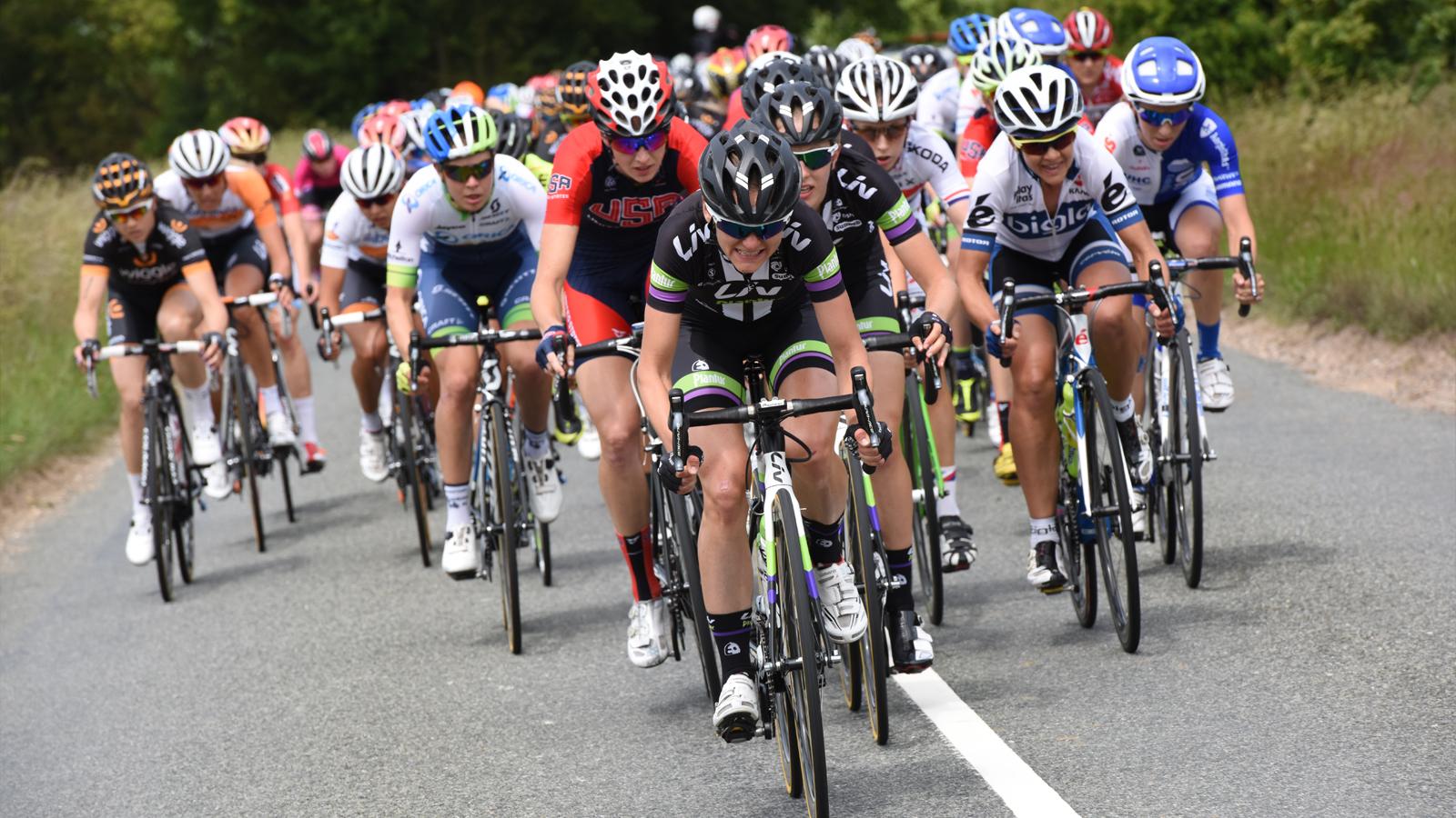 Sharon Laws 2015 Women's Tour peloton