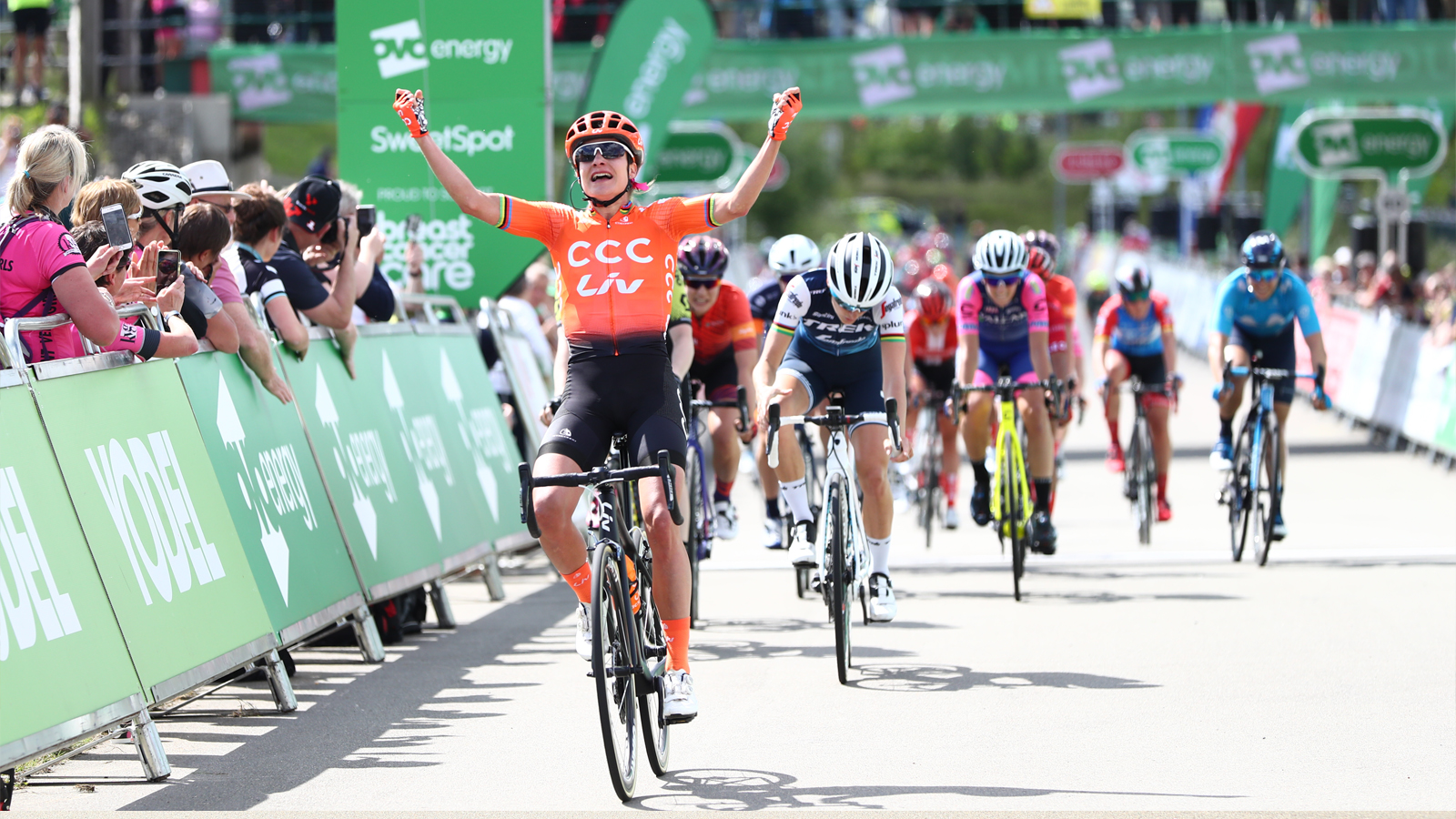 Marianne Vos Women's Tour stage two