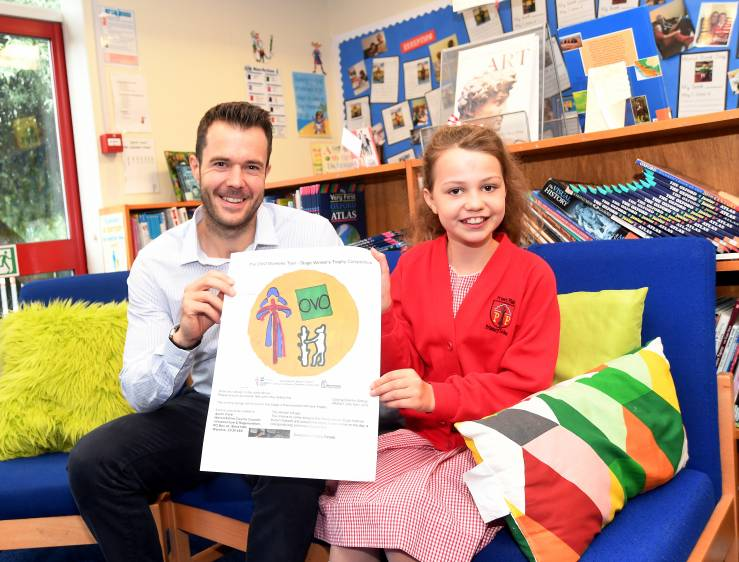 Kenilworth youngster designs special trophy for hill top finish stage